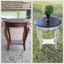 Home Design Before And After Lovely Refinished End Tables Night Stand Before And After Home