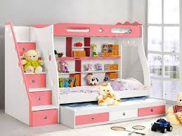 Bunk Beds For Kids With Desk Ikea Loft Beds For Bunk Beds Dark - Pink bunk beds for kids