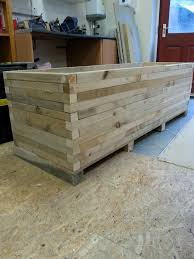 diy large planters do it your self