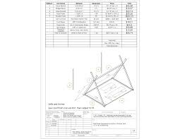 A Frame Plans Index Of Construction Plans Siege Structures Rams Towers Etc