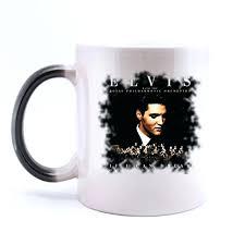 creative mugs caribou coffee mug qyou custom elvis presley morphing creative