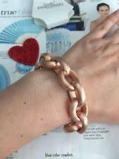 rivka friedman bracelet rivka friedman 18k gold clad toggle bracelet ebay