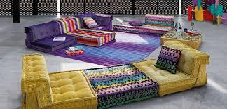 prix canap mah jong mah jong composition missoni home sofas roche bobois knitting