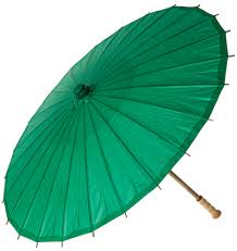 Emerald Green Home Decor by Parasol 32 Inch Emerald Green Chinese Japanese Paper Umbrella