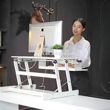 Adjustable Height Computer Desk Workstation by Adjustable Height Laptop Stand Table Stand Up Desk Computer