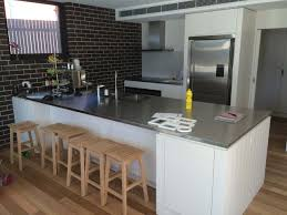 kitchen stainless steel kitchen bench inspirational home