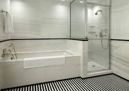white tile bathroom designs black and white subway tile bathrooms useful reviews of shower