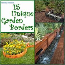 Border Ideas For Gardens Condo Blues 15 Unique Garden Border And Edging Ideas