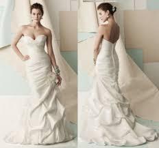 mermaid style gown on petite body type weddingbee
