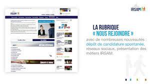 nouveau si e social lancement du nouveau site irsam fr