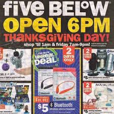 black friday magazine five below ads and deals from blackfriday com