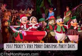 2017 mickey s not so scary and mickey s merry