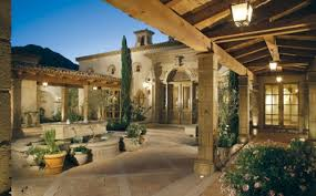 home courtyard would to a u shaped garden home some day with a pool in