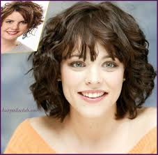 layered short haircuts for curly hair and round faces hairstyles