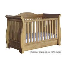 Boori Sleigh Cot Bed Boori Country Sleigh Royale 3in1 Cot Bed V10 With Mattress