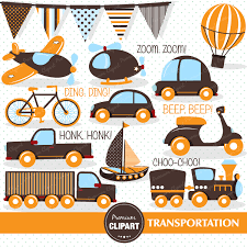 pushbike clipart transportation vehicle pencil and in color