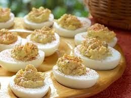 deviled egg dishes basic deviled eggs recipe myrecipes