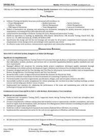 Software Testing Resume Samples Download Electronic Test Engineer Sample Resume