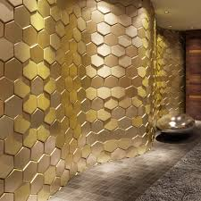 popular faux wall tile buy cheap faux wall tile lots from china 3d leather wall sticker peel and stick tiles faux leather wall panels 3d hexagon gold