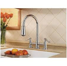 2 handle pull kitchen faucet polished chrome ashfield 2 handle pull kitchen faucet