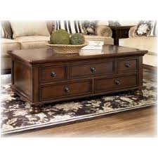 Ashley Porter Nightstand T697 4 Ashley Furniture Porter Rustic Brown Console Sofa Table