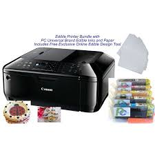 edible printing system edible printer bundle brand new canon all in one printer with