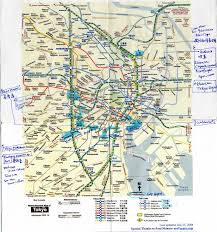 Tokyo Metro Map Q U0027s Wandering