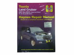 haynes workshop manual for landcruiser vdj uzj urj 76 78 79 200