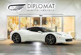 458 rental las vegas 458 italia rental las vegas diplomat car rentals