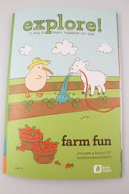 kiwi crate may 2014 farm fun save 10 00 craft subscription