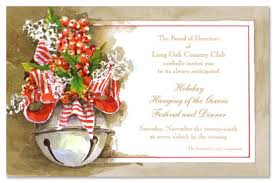 christmas brunch invitations modern bell christmas party invitations 21640