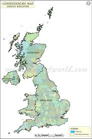 Blank Electoral Map by Uk Constituency Map Uk Constituencies