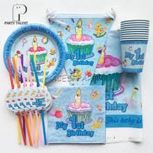 1st birthday party supplies popular 1st birthday party supplies boys buy cheap 1st birthday