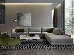 canap jean sofá composable de tela de esquina bristol by poliform diseño jean