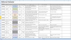 editorial blogging calendar and schedule free template 102 saneme