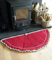 Half Circle Rugs The World U0027s Best Photos Of Handknittedthings And Red Flickr Hive