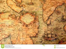 Ancient World Map by Map Stock Photos Images U0026 Pictures 131 911 Images