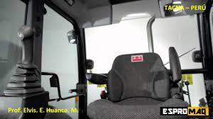 operación y mantenimiento de retroexcavadora cargadora tacna