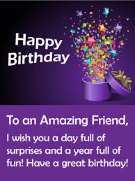 birthday gift box cards for friends birthday u0026 greeting cards by