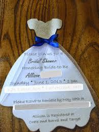 dress invitations peanut life adventures wedding dress shower invitation set