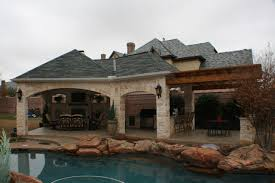 Outdoor Covered Patio Pictures Fort Worth Covered Patio With Pergola Outdoor Kitchen And Outdoor