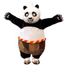 Panda Bear Halloween Costume Discount Kungfu Panda Mascot 2017 Kungfu Panda Mascot Costume
