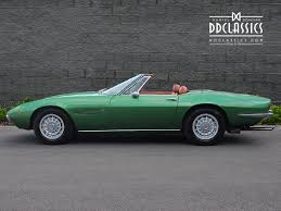 classic maserati convertible used 1971 maserati ghibli for sale in surrey pistonheads