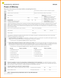 Free Medical Power Of Attorney Forms by 10 Power Of Attorney Form Minnesota Action Plan Template