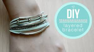 make wrap bracelet images Diy layered wrap bracelet easy jpg