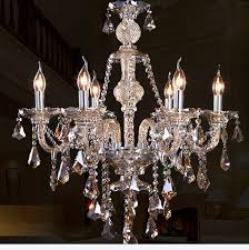 Antique Crystal Chandelier Bohemian Antique Crystal Chandeliers 6 Candle Lights Bedroom