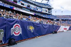 event highlight ncaa lacrosse national championships event ncaa lacrosse mesh windscreens team panel