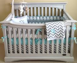 Gray Chevron Crib Bedding Interior Chevron Crib Bedding Solpool Info