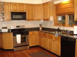 elegant kitchen color schemes with oak cabinets kitchen colors