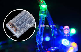 cheap new 2m 3m 4m 5m led string mini lights 3xaa battery